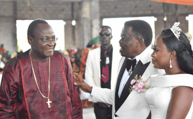 Warri-based clergyman, Archbishop Goddowell Avwomakpa, remarries one year after demise of his wife (photos)