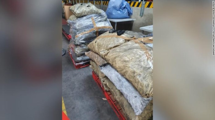 Cocaine disguised as charcoal worth up to $41 million seized by police (photos)