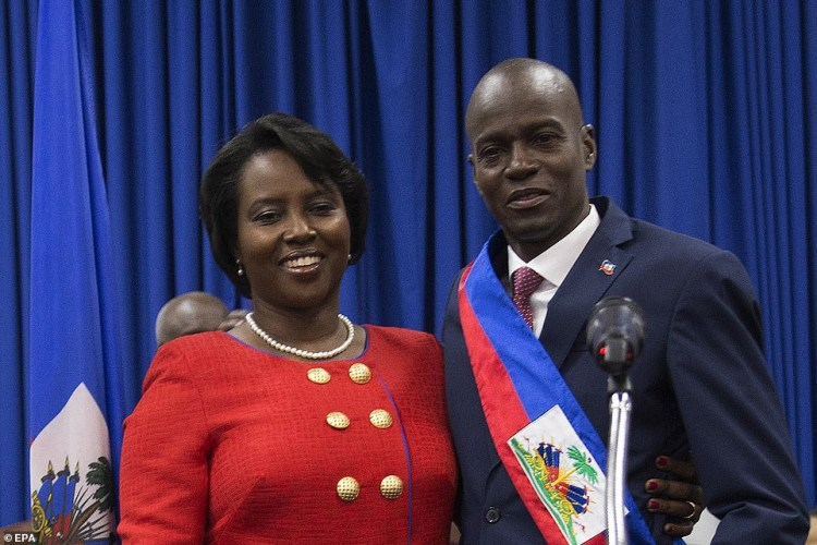 Haitian police arrest slain president?s chief bodyguard, three others