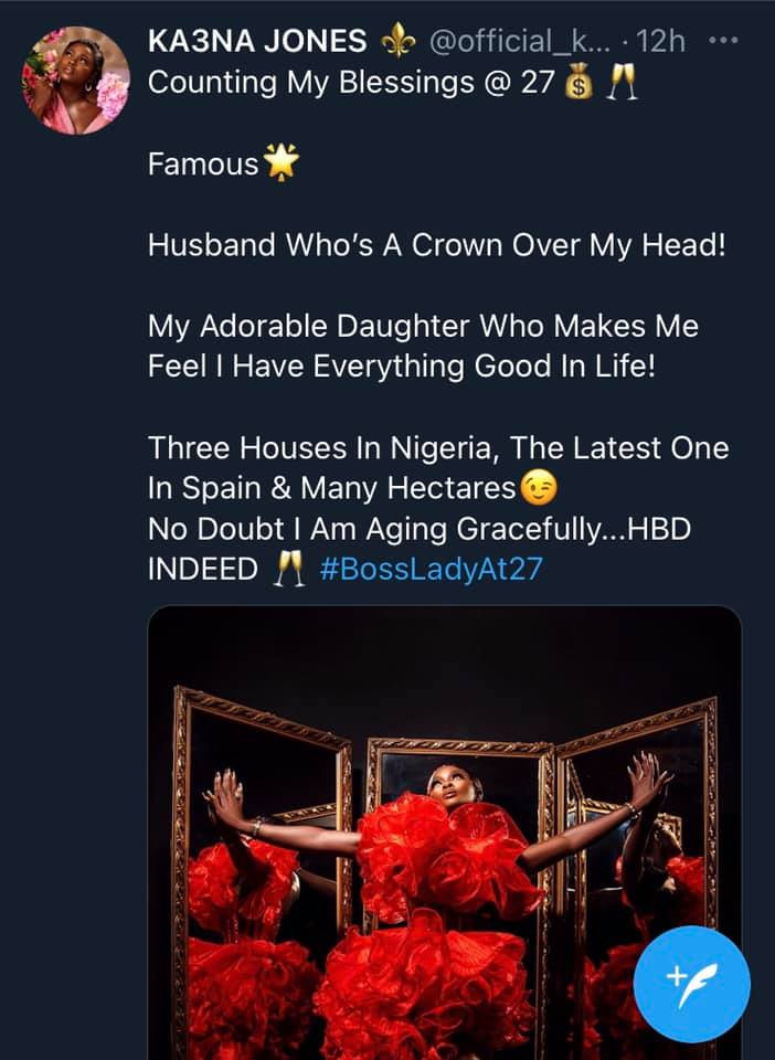 I have three houses in Nigeria and one in Spain - BBNaija