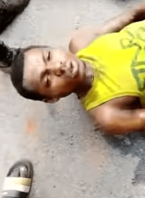 Five suspected kidnappers burnt to death by angry youths in Edo (photos)