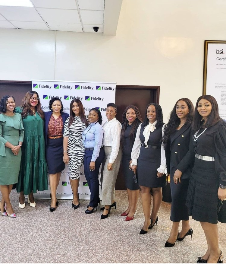 Fidelity Bank hosts Linda Ikeji to a Ladies