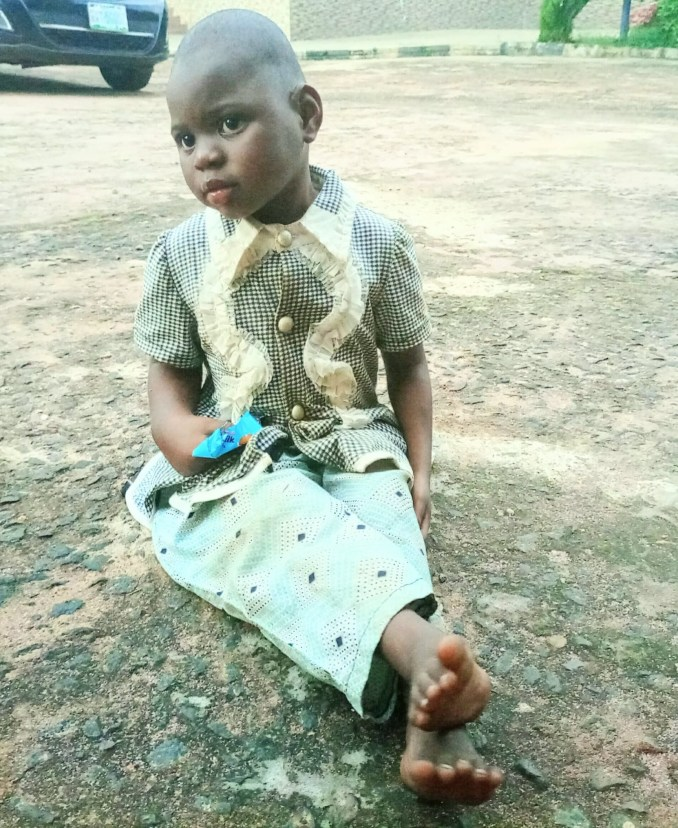 Unknown woman abandons her child at Catholic Church in Delta