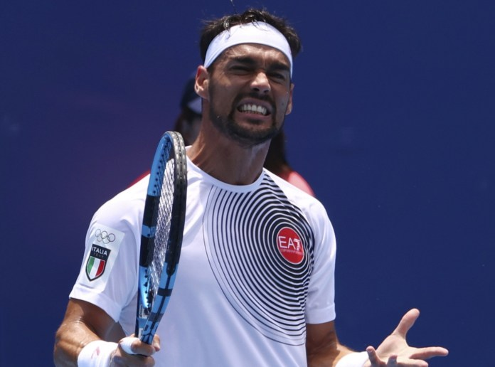 Olympic tennis player who repeatedly used an anti-gay slur, says Tokyo heat made him do it