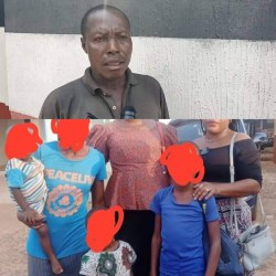 48-Year-Old Man In Prison- Defiled His 3 Daughters Aged 8, 4 And 18months