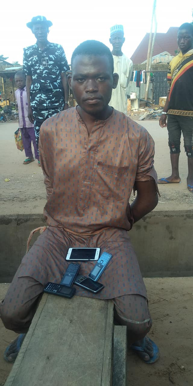 Suspected thief nabbed after he fell asleep while robbing a mosque in Kebbi