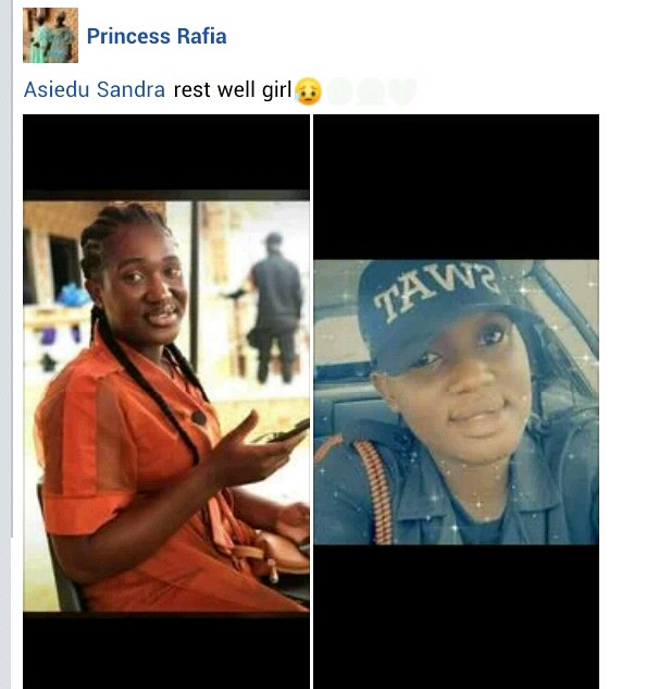 Policewoman allegedly stabbed to death by her boyfriend in Ghana