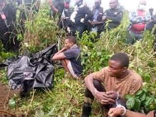Police exhume body of abducted Rivers pastor killed and buried in shallow grave by kidnappers after collecting N500K ransom (photos)