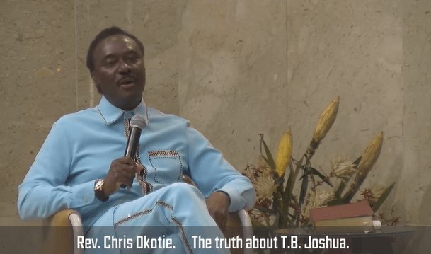He is a magician, a sorcerer and calls himself a prophet- Rev Chris Okotie criticises late T.B Joshua in new video