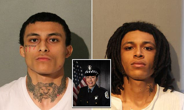 Update: Photos of the?two brothers, 21 and 22, charged over murder of first Chicago woman cop shot dead on the job in 33 years