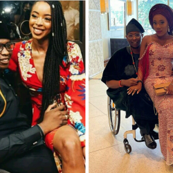 Debola Daniel physically challenged son of former Ogun State Governor Gbenga Daniel introduces his new 'Olori' 3 years after he proposed to longtime girlfriend