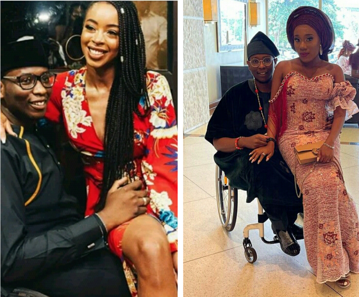 Former governor, Gbenga Daniel's physically challenged son, Debola introduces his new 'Olori' three years after he proposed to longtime girlfriend