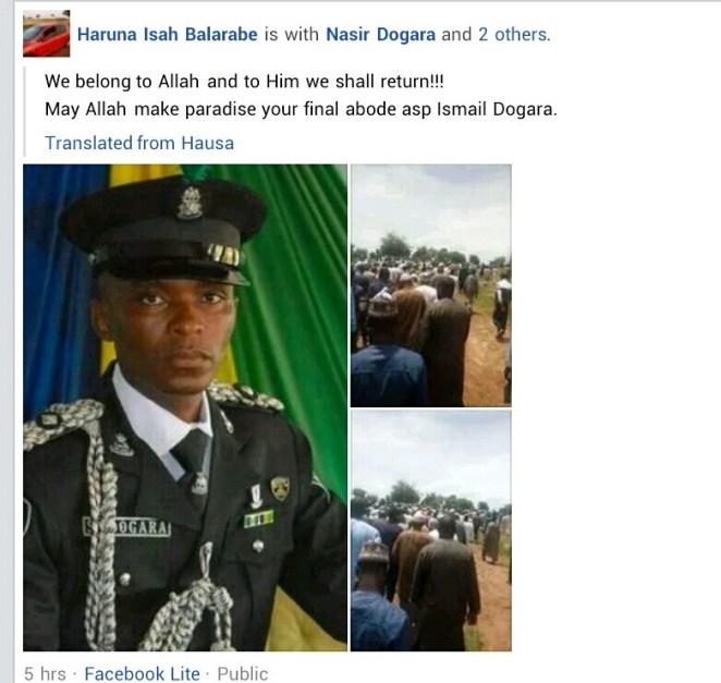 Suspected bandits kill police officer in Kaduna