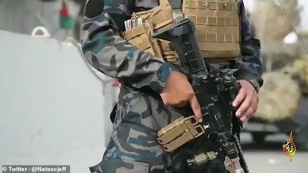 Taliban unveils its special forces unit possessing high tech equipment, armour vest, night vision; names it after war fought 1400 years ago by prophet Mohammed (photos)