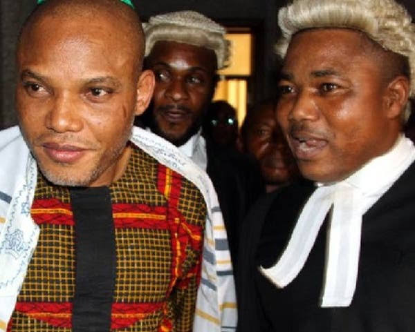 IPOB Lawyer, Ifeanyi Ejiofor, explains why Nnamdi Kanu hasn't sent video or audio messages from DSS detention