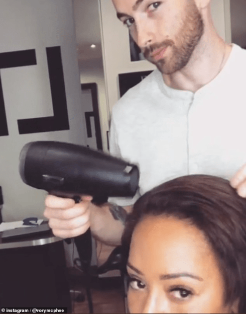 Mel B, 44, seen out with rumoured beau Rory McPhee, 31, for the first time since reports emerged that they are dating (photos)