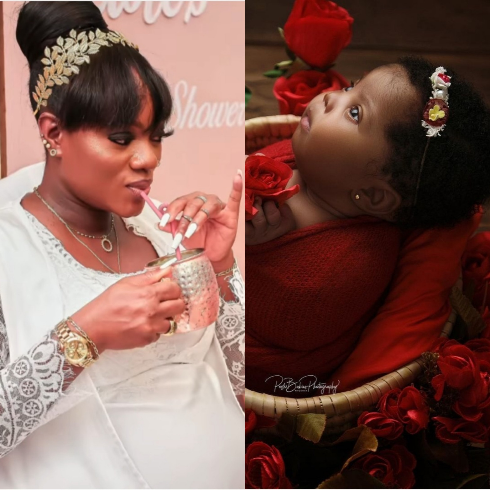 Basket Mouth's wife, Elsie narrates how two hospitals rejected her when she went into labour at midnight