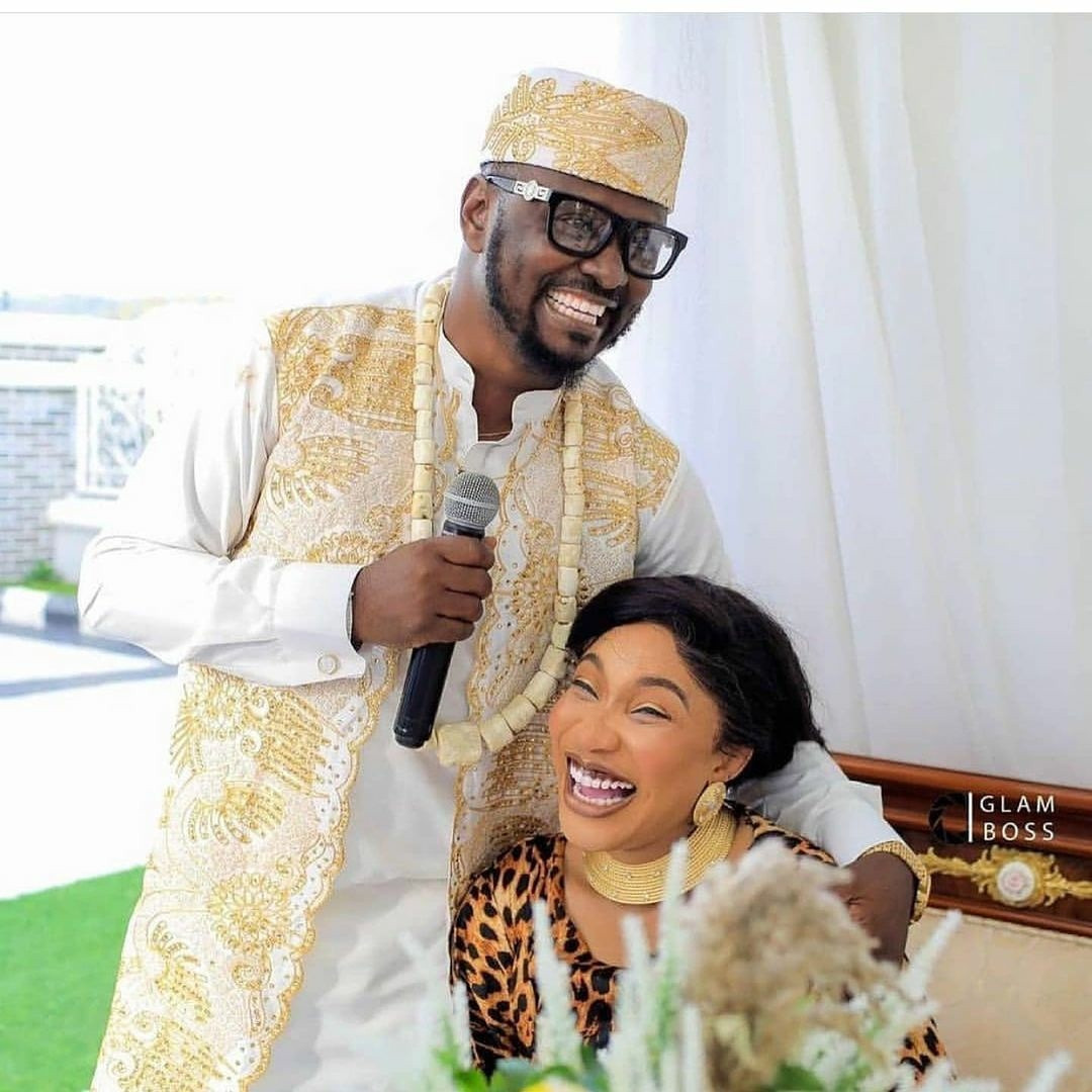 We dated for barely 3 months and it was a living hell. She cheated right from the start of our relationship - Tonto Dikeh's ex-boyfriend Prince Kpokpogri speaks after breakup