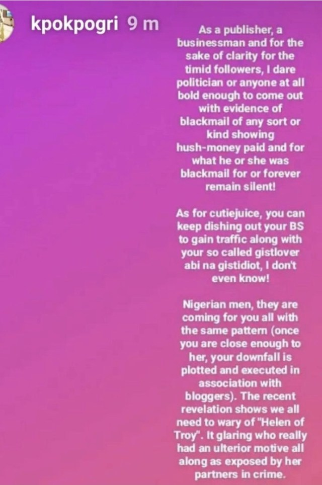 We dated for barely 3 months and it was a living hell. She cheated right from the start of our relationship - Tonto Dikeh