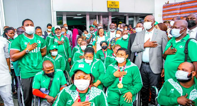 Nigeria ranked third best African team after finishing with 10 medals at Tokyo Paralympics