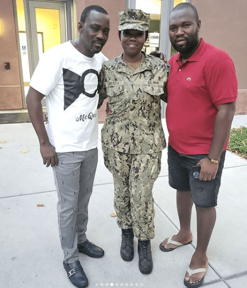 Pasuma visits daughter who is a Naval officer in US Navy at her base in California (video)