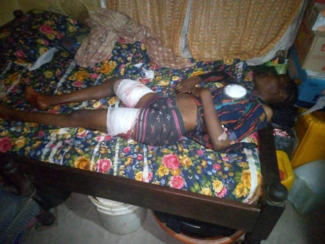 Family cries for justice as a lady is allegedly shot dead by trigger-happy police at her home