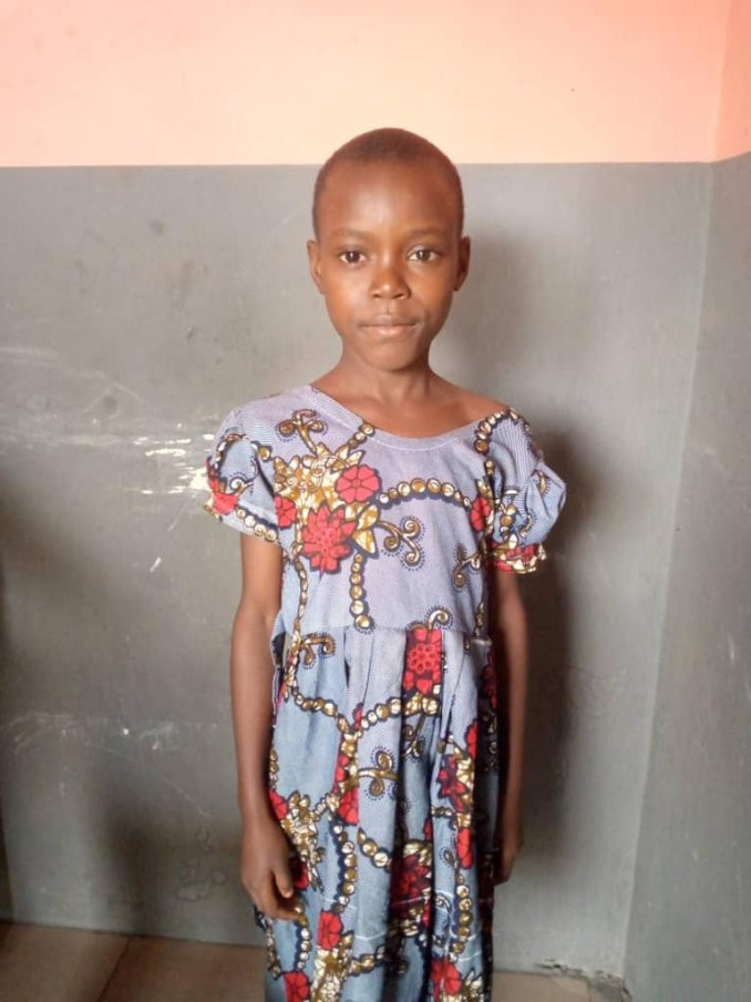 Eight year old girl found wandering the streets in Imo  (photo)