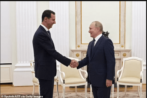 Vladimir Putin goes into self-isolation just hours after meeting with Syrian President Bashar al-Assad