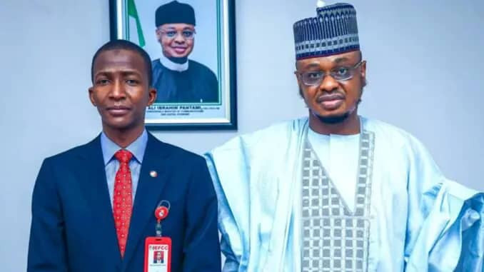 Minister of Communications and Digital Economy, Isa Pantami explains why EFCC Chairman collapsed