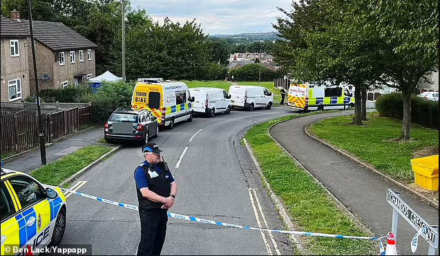 Man held after four people are found dead in house in Derbyshire