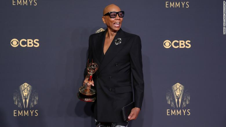RuPaul makes history as most-awarded Black artist ever