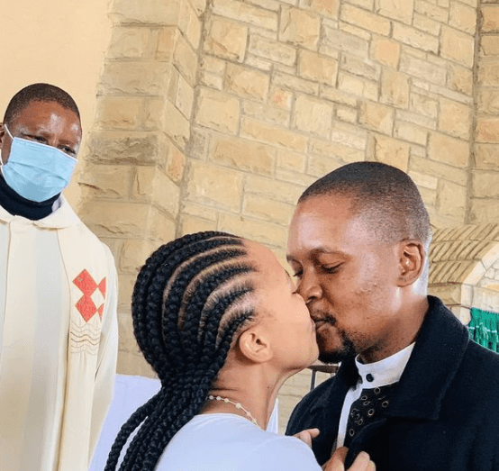 Lady causes a stir on social media after sharing photos from her private wedding