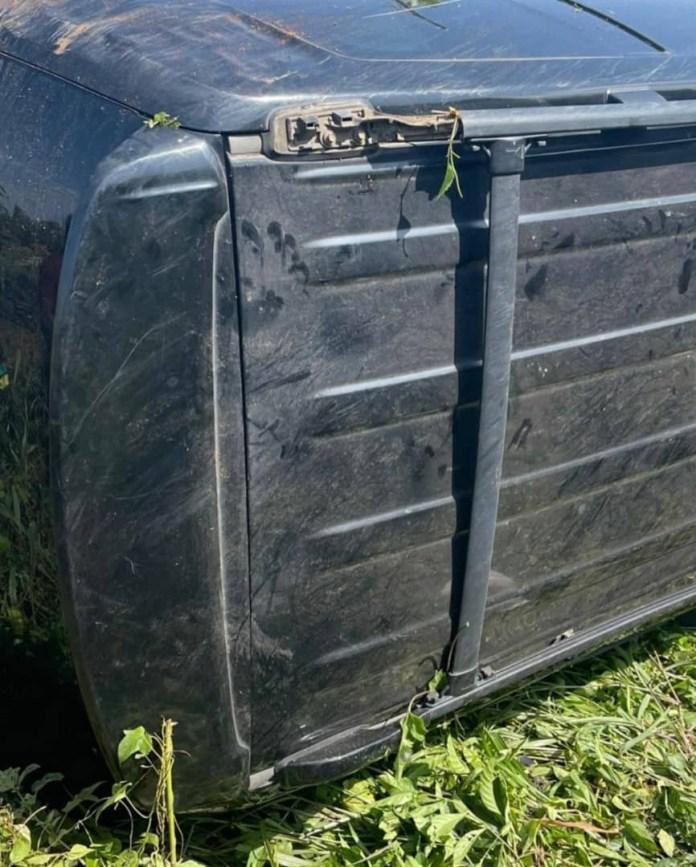 Singer, Oritsefemi, survives ghastly motor accident (photos/videos)