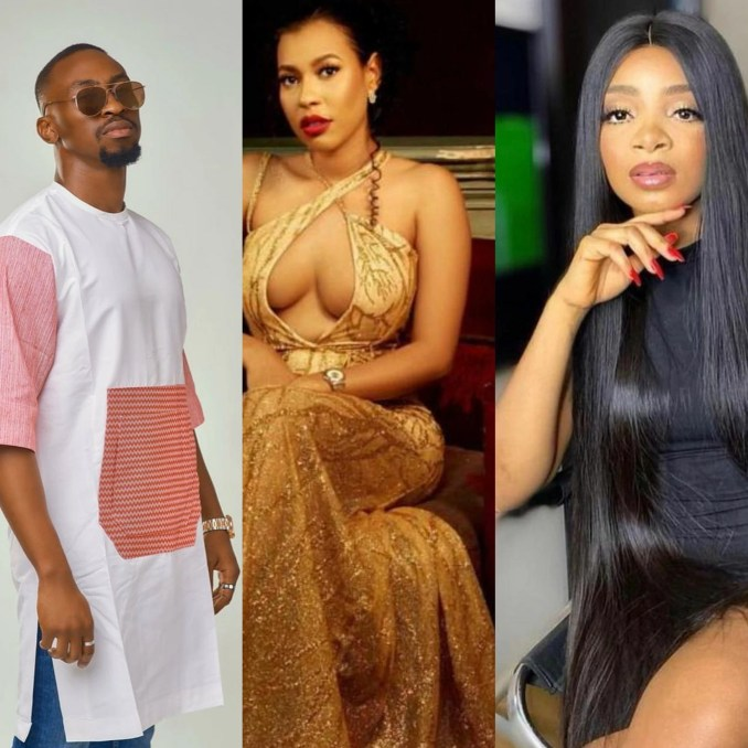 Queen, Nini and Saga evicted from #BBNAIJA  house