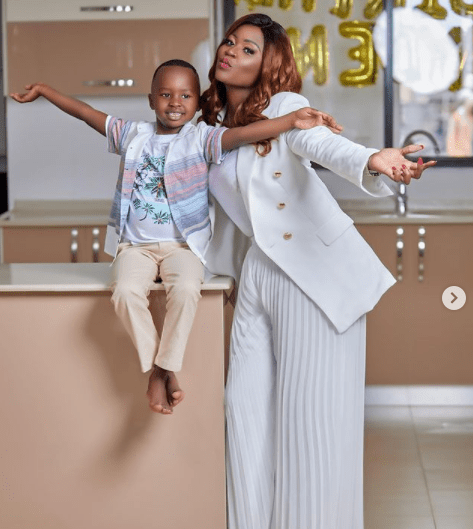 Kenyan businesswoman gifts son a mansion on his 6th birthday