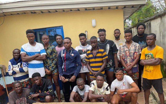 Police foil cult initiation in Delta, arrest 10 suspects