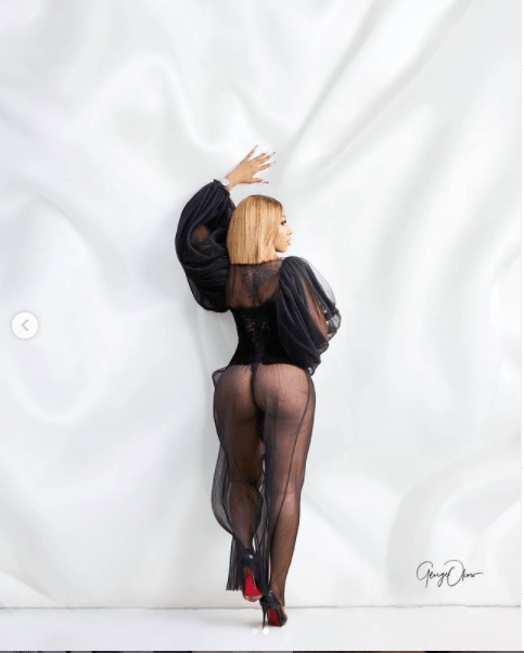Reality star, Mercy Eke releases sultry?photos with her backside on display ahead of her 28th birthday tommorow