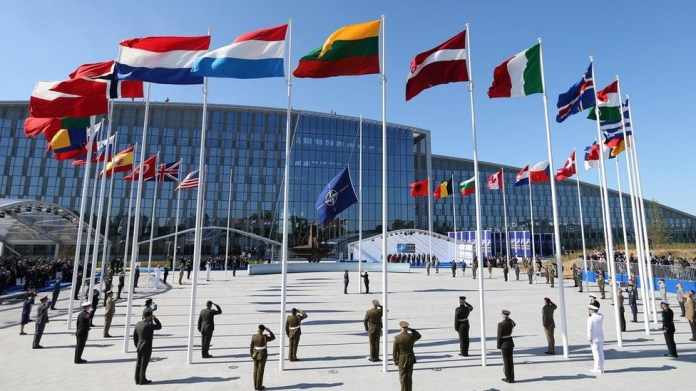 Nato expels eight Russians from its mission for secretly working as spies