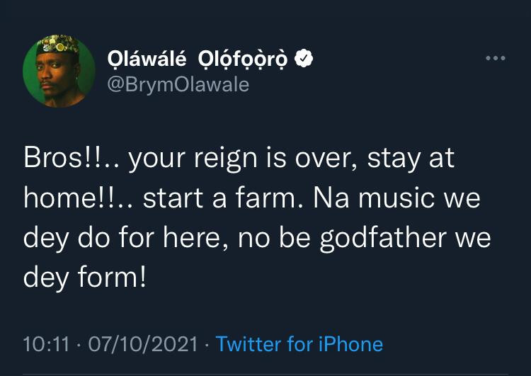 Comedian Efewarriboy tackles Brymo for disrespecting 2face (video)