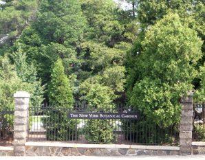 The New York Botanical Garden Entrance