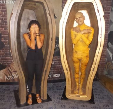 Mummy in New York - Alexis Chateau - Wax Museum