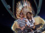 pharaoh county fair ride selfie jamaican woman roller coaster