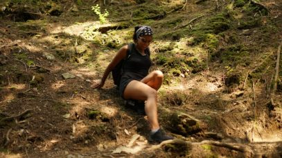Hiking at Salt Spring State Park - Alexis Chateau