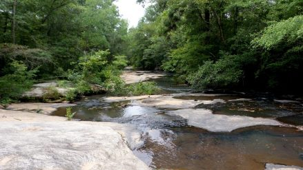 river cascade trail hiking travel atlanta path