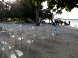 Wedding Setup at Good Hope Beach, Jamaica