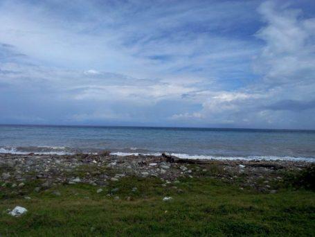 Beach at Buff Bay in Jamaica