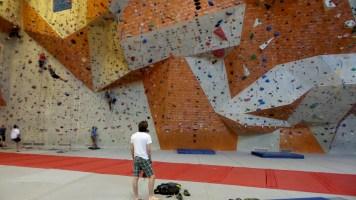 Indoor Rock Climbing brian mott