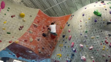 indoor rock climbing brian mott