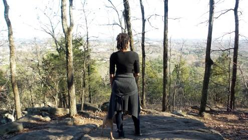 alexis chateau hiking trail kannesaw mountain