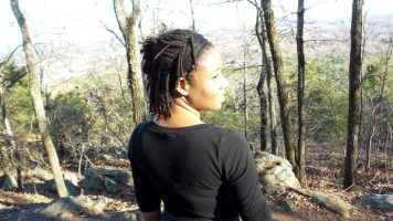 On Top of Kennesaw Mountain - Alexis Chateau - Black woman hiking
